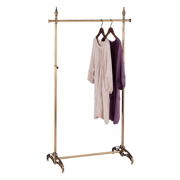 Clothes Rack - Antique Gold