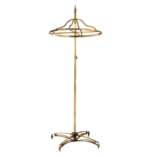 Circular Clothes Rack - Antique Gold