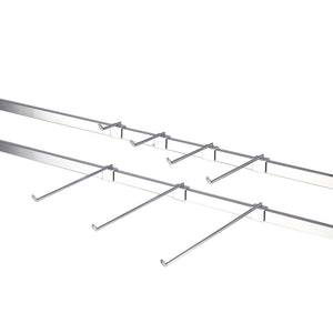 display prongs for hanging rails - several lengths