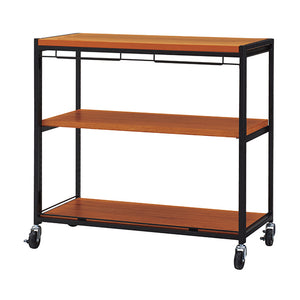 Haco Marché – Acacia Trolley with Shelves