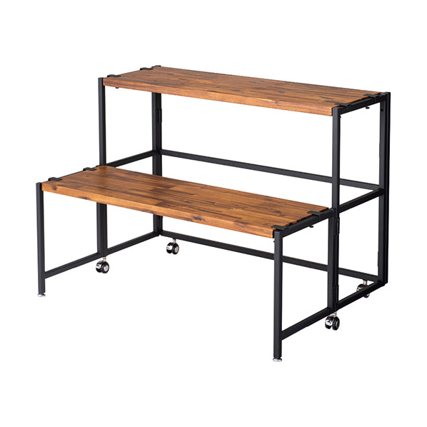 Acacia Wooden Shelf W90×D30cm
