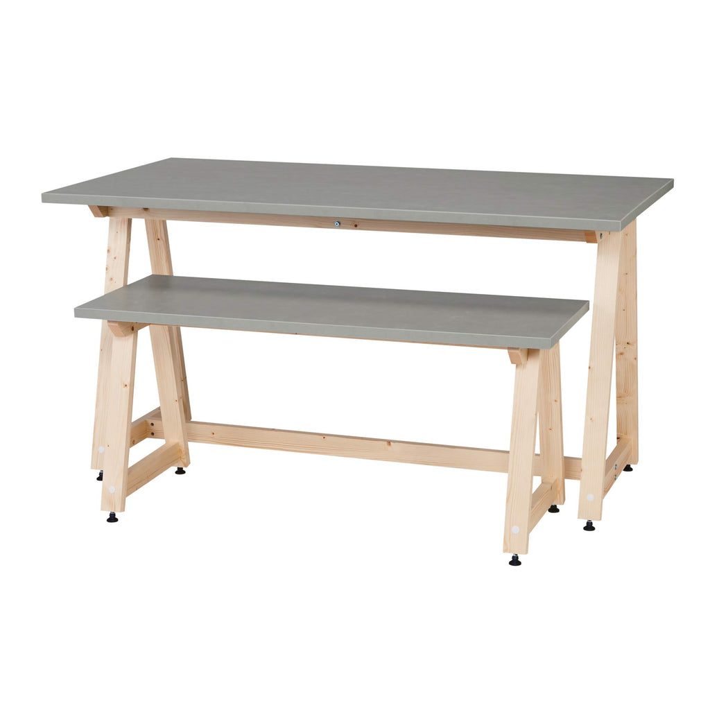 Delta - Sport Display Tafel - Cement Kleur