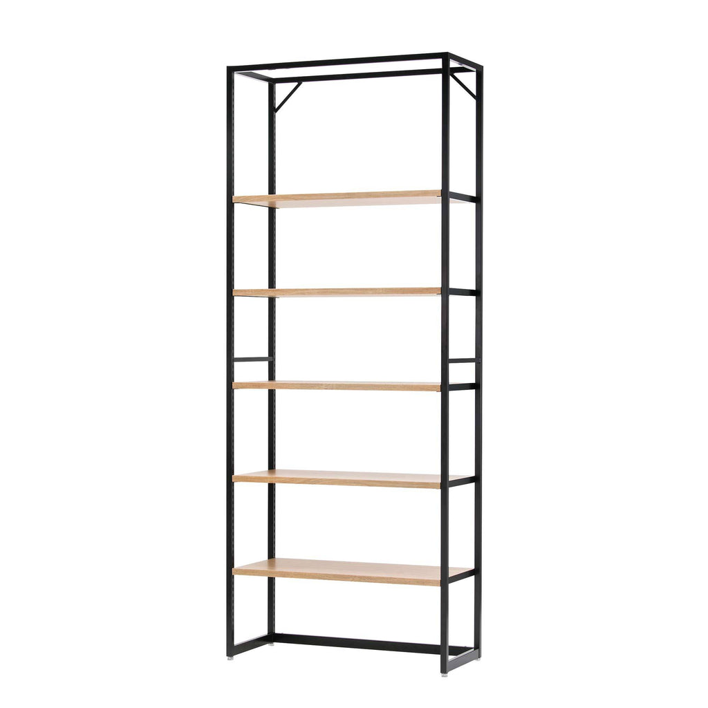 Lateral 4 - Shelving Unit - Rustic
