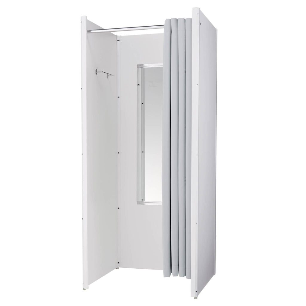 Wooden Fitting Room - White
