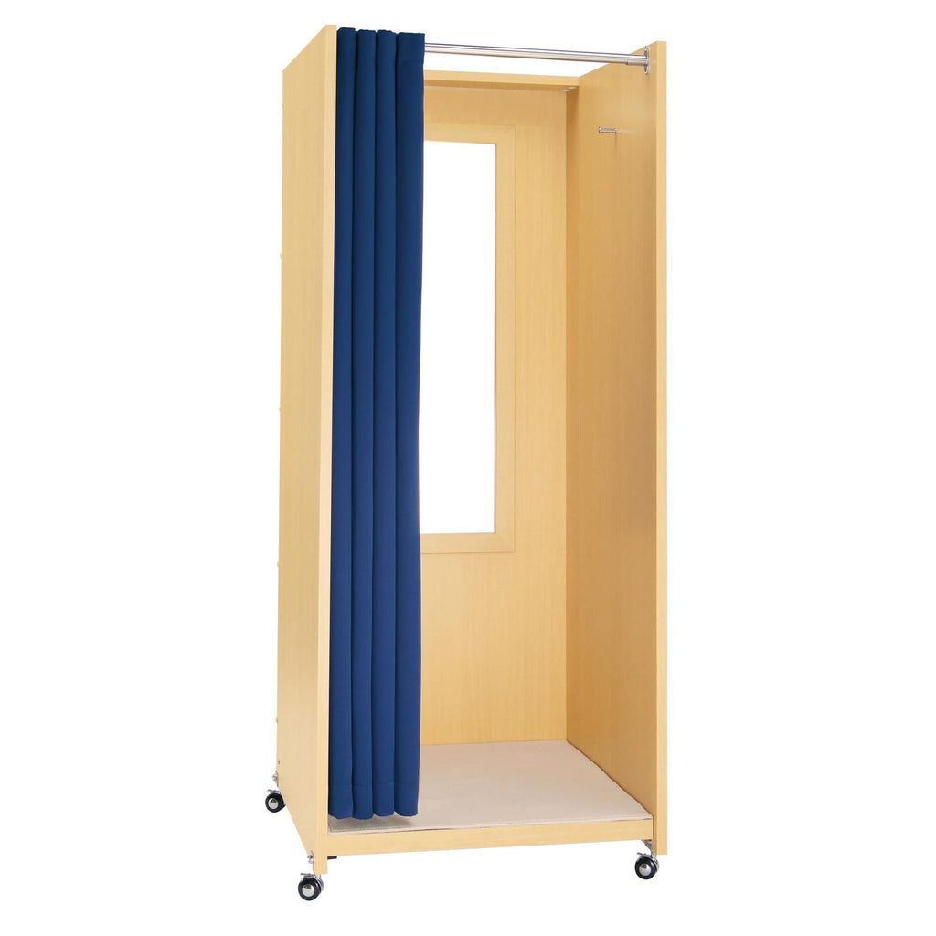Portable Folding Fitting Room - Maple