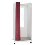 Portable Folding Fitting Room - White