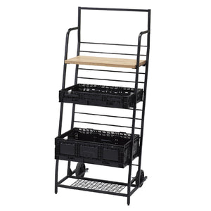 Haco Marché –  Folding Box and Shelving Hand Truck Unit