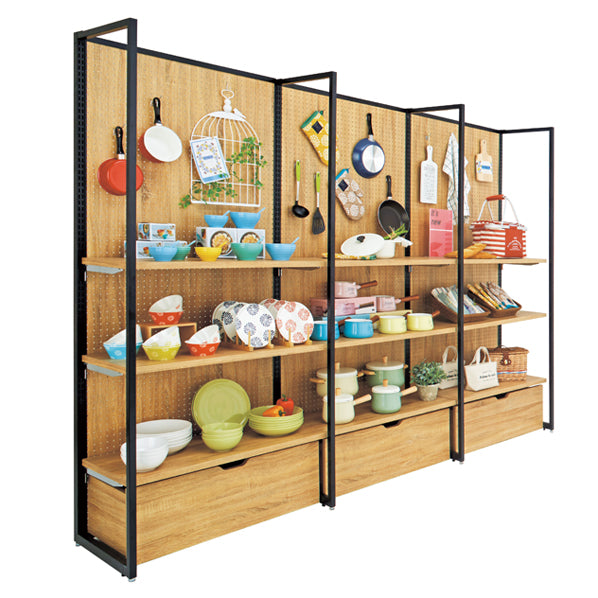 Standard Frame - Wall Frame Type Display Unit H210cm Full Set