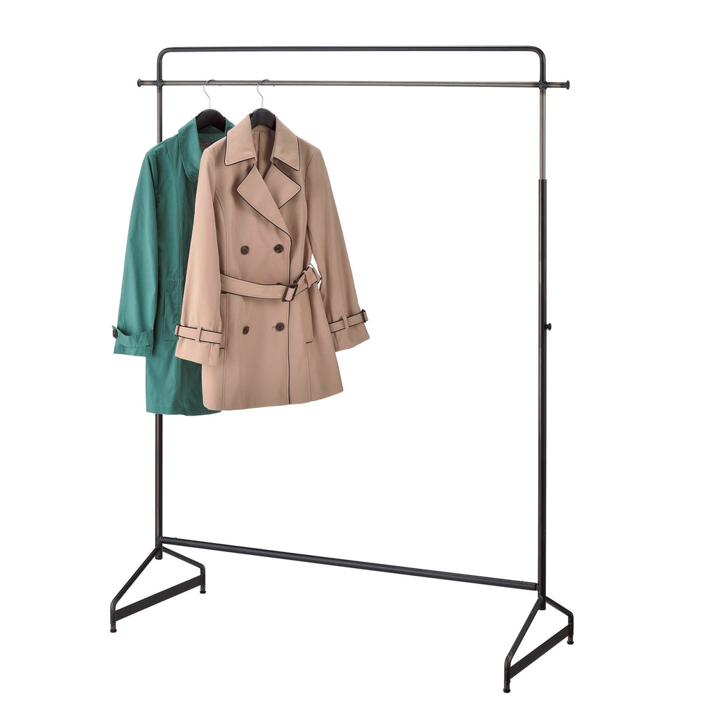 Iron Style Clothes Rack - Black