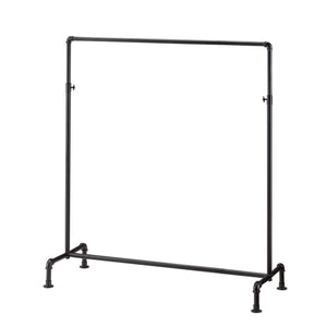Black Gas Pipe Clothes Rack 2