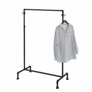 Black Gas Pipe Clothes Rack