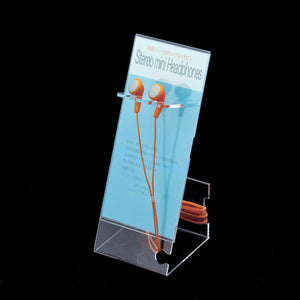earphone display stand made from acrylic plastic