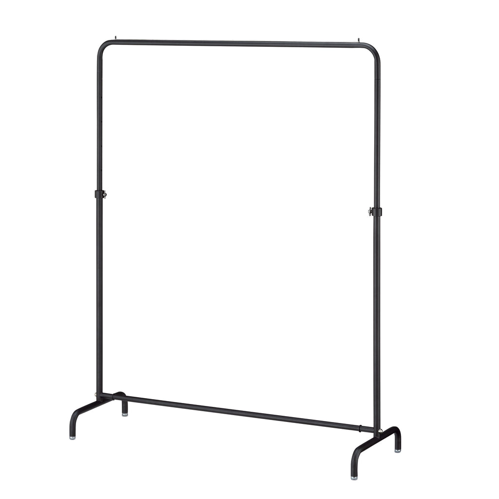 black minimalist clothes rack from the Torim series
