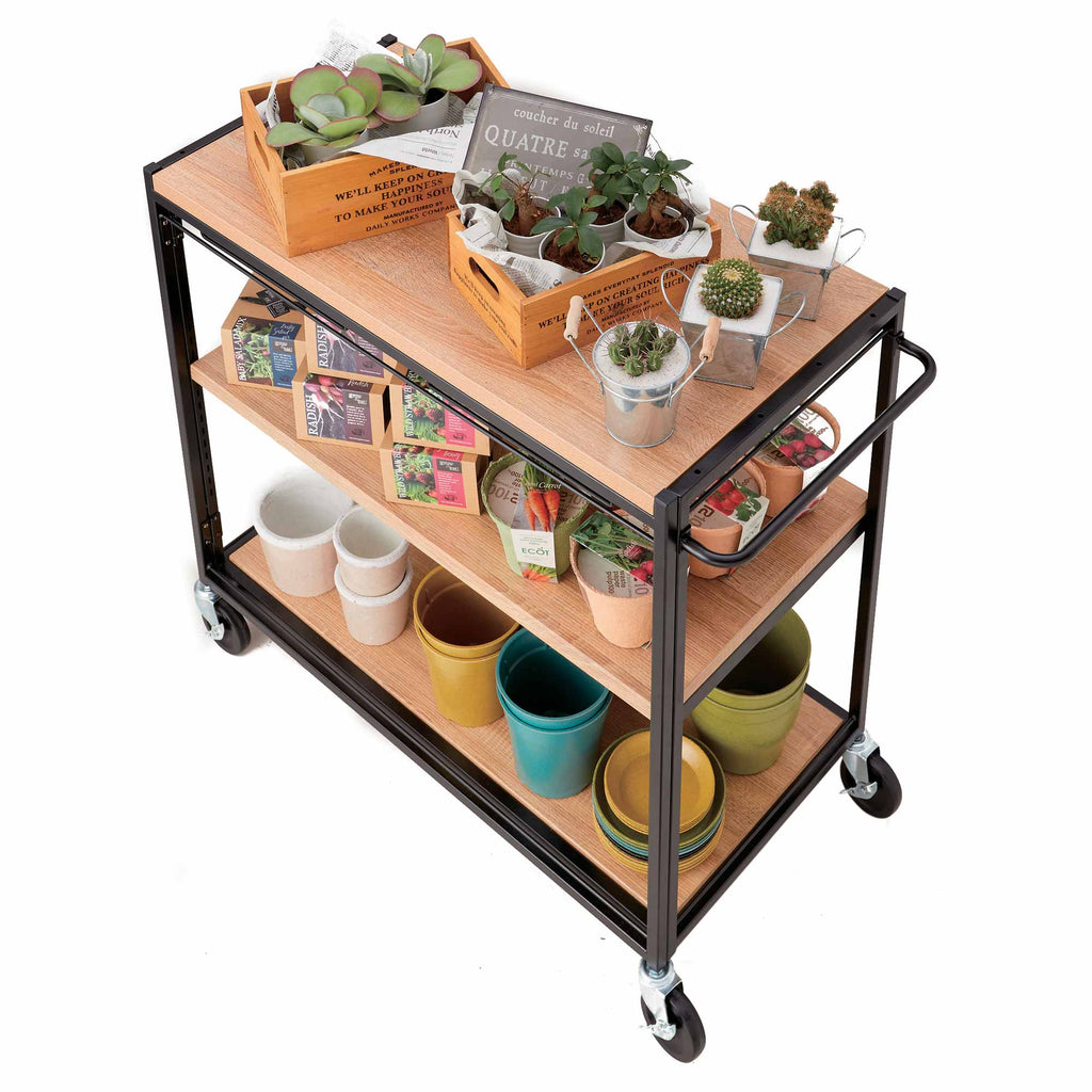 Haco Marché – Trolley with shelves