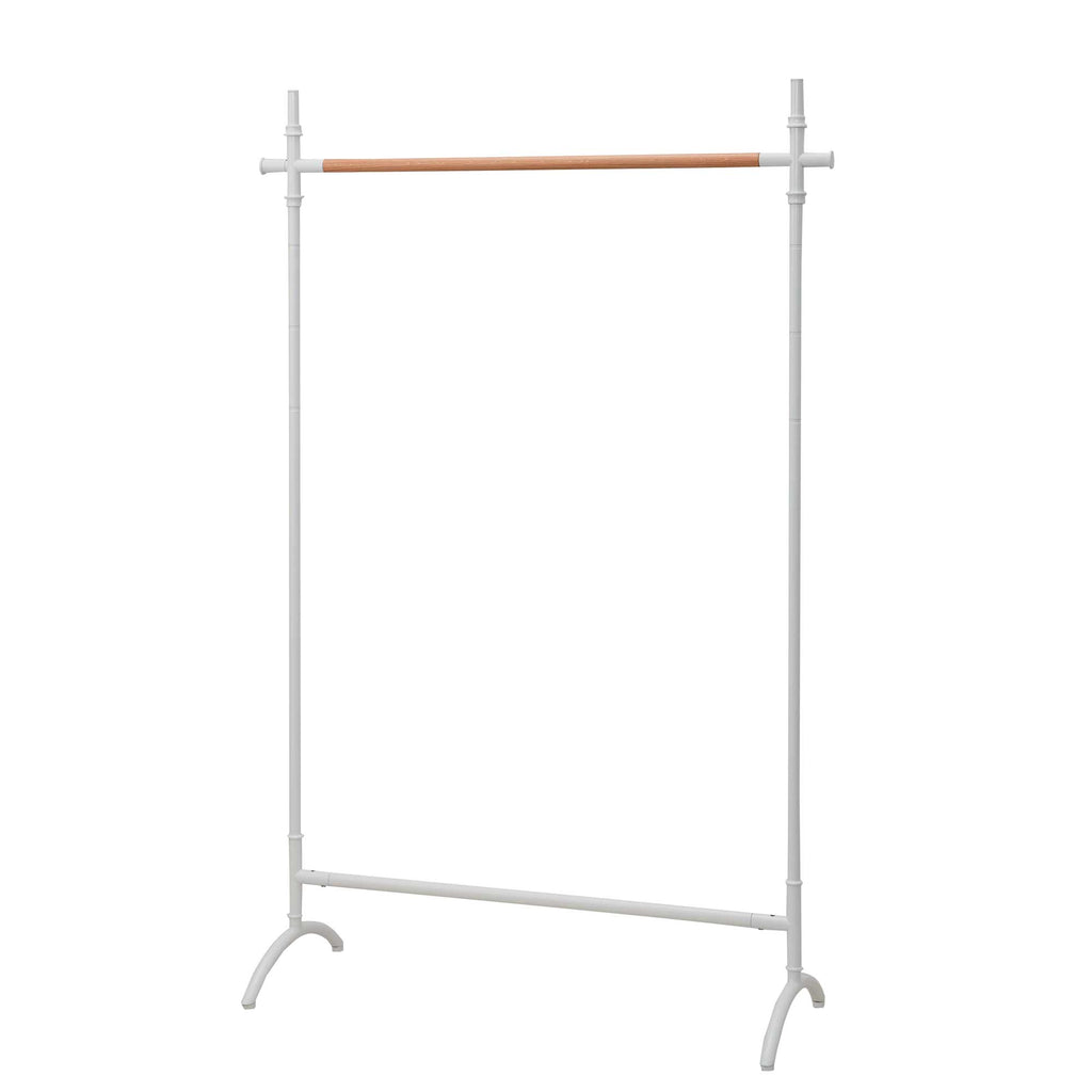 Decorative Clothes Rack - White