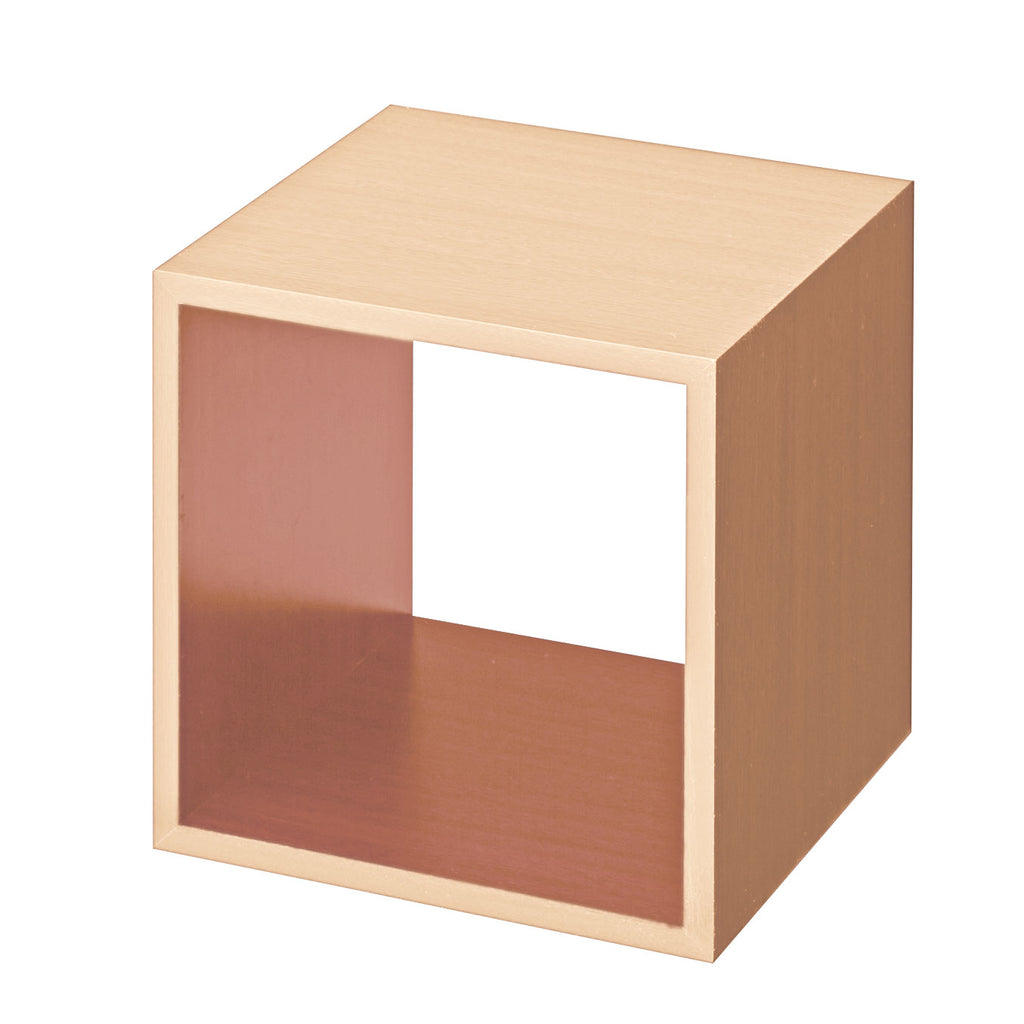 Set of Large maple display cube