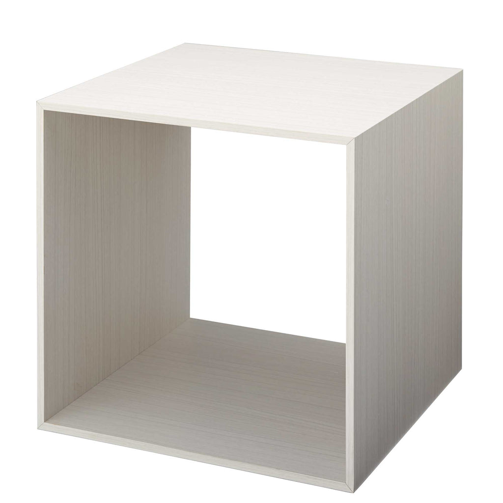 Set of Large white display cube