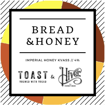 bread and honey toast collab