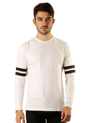UD Sports Casual Cotton Men's White T-Shirt
