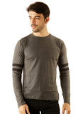 UD Sports Casual Cotton Men's Charcoal Grey T-Shirt