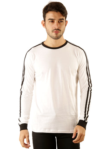 UD Sports Casual Cotton Men's T-Shirt - White