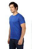 Rapphael Casual Cotton Blue Men's T-Shirt