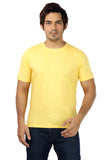 Rapphael Casual Cotton Yellow Men's T-Shirt