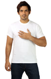Rapphael Casual Cotton White Men's T-Shirt