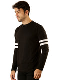 UD Sports Casual Cotton Men's Black T-Shirt