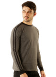 UD Sports Casual Cotton Men's T-Shirt - Charcoal Grey