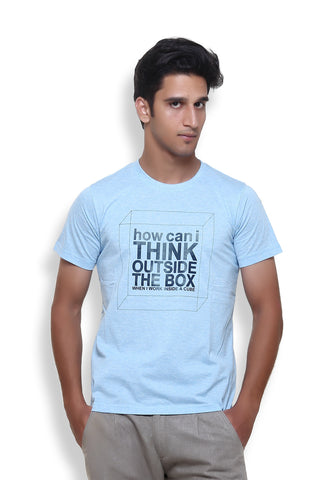 Furious Active Think Blue T-Shirt