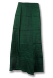 Dark Green Cotton Peticoat View1