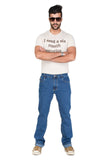 Indwins Light Blue Regular Fit Jeans for Men