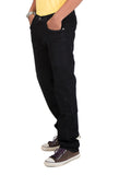 Indwins Black Regular Fit Jeans for Men