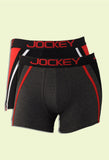 Jockey Men's Cotton Fashion Trunk US21 (2pc pack)