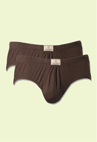Jockey Men's Cotton Poco Brief 8035 (2pc pack)