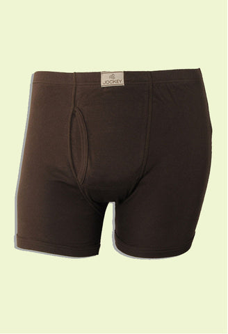 Jockey Men's Cotton Trunk Front Opening 8008