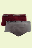Poomer Men's Cotton Franco Brief OE (2s Pack)