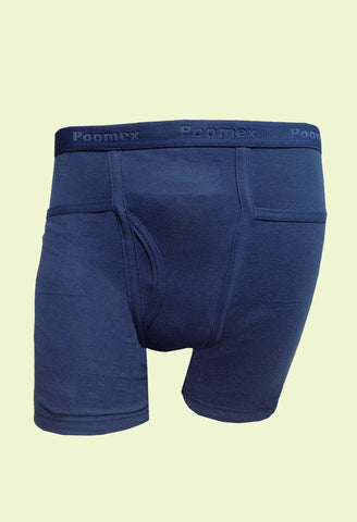 Poomex Men's Cotton Comfort Trunk