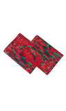 Portico Stellar Cotton Red Pillow Covers 2s Pack View1