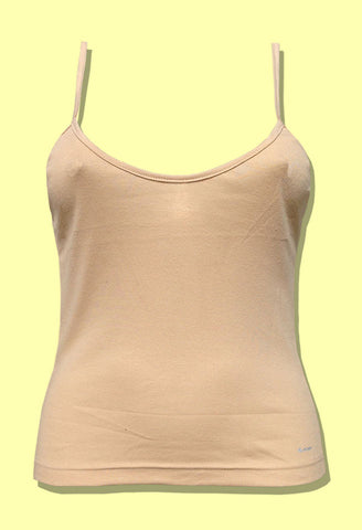 Jockey Women's Skin Cotton Slips Spaghetti Top 1487