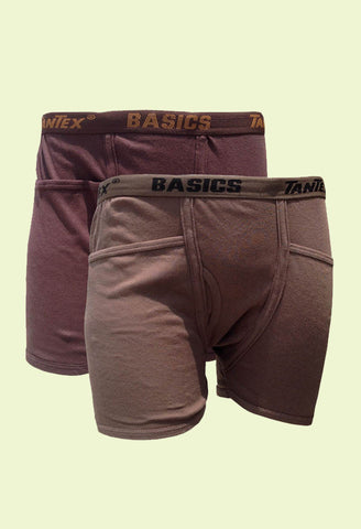 Tantex Hugger  Men's Cotton Trunks (2s Pack)