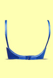 Angelform Varnajalam Priyasajani Royal Blue Women's Lingerie Cotton Bra