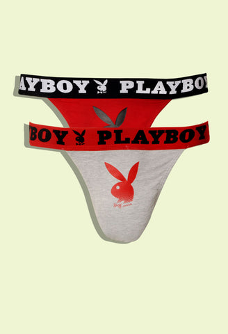 Playboy Men's Cotton Tee Brief UF-13 2pc Pack