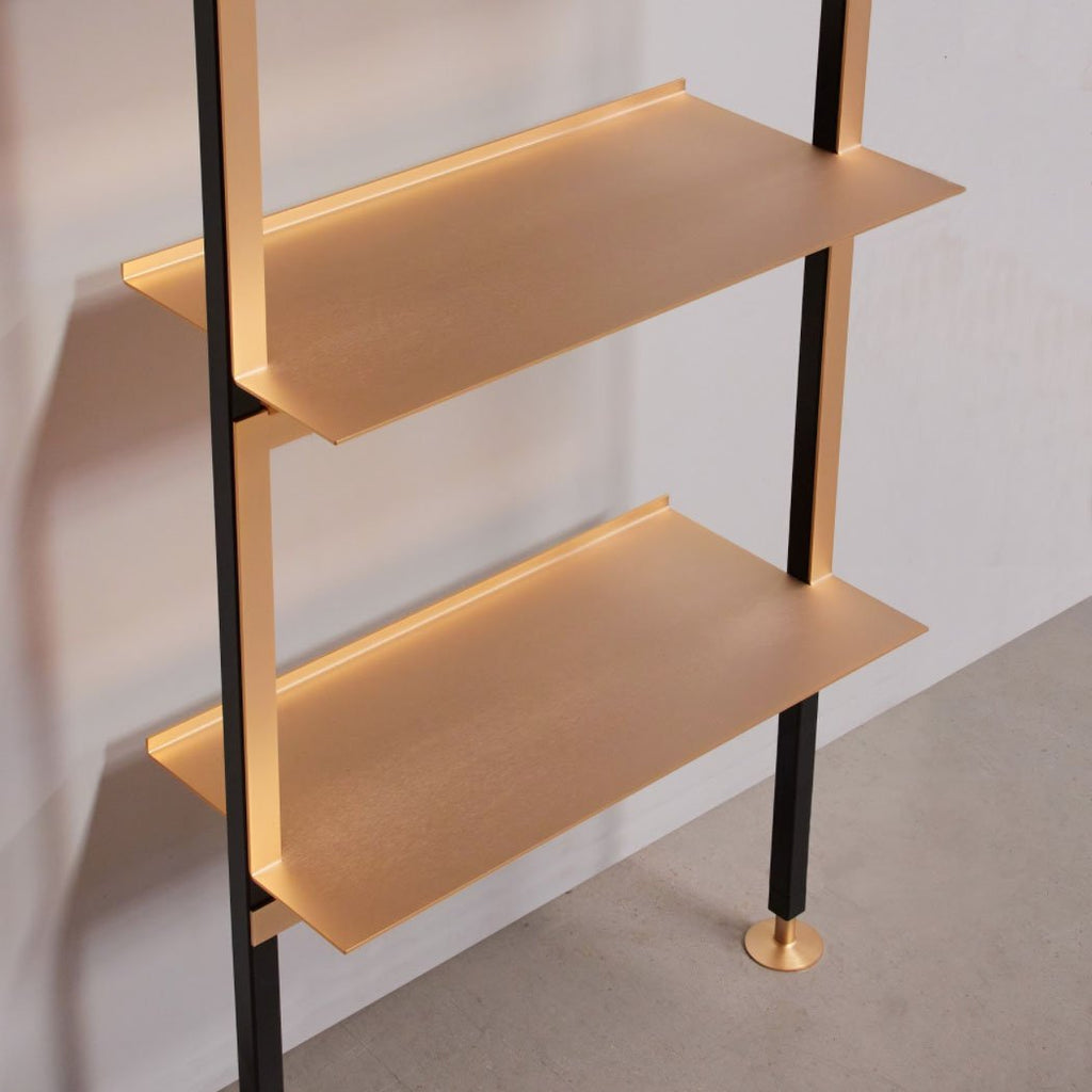 Go for Gold - with the exclusive Enrica shelf