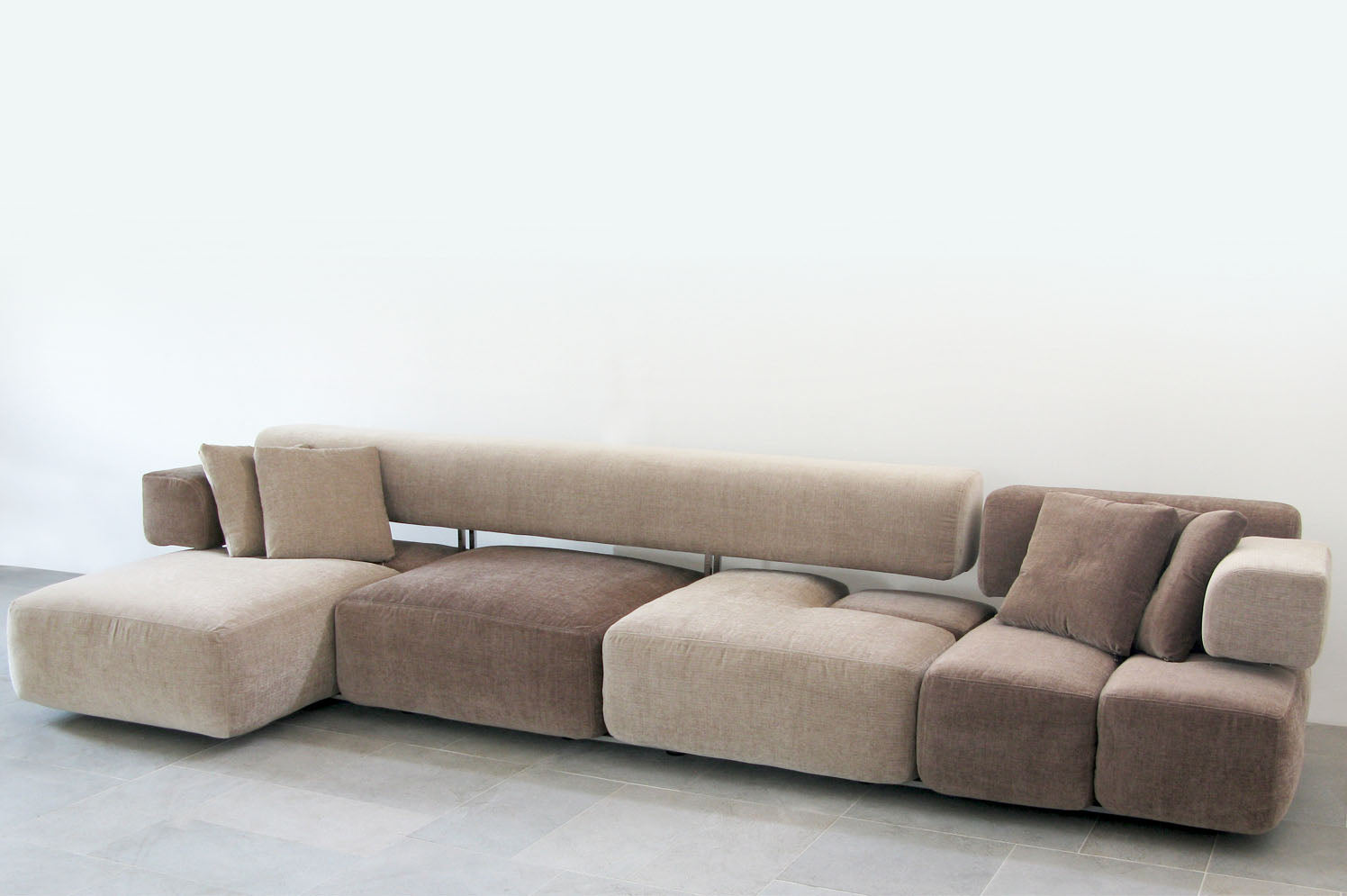 D3CO Domino versatile sofa eco friendly and sustainable plastic free