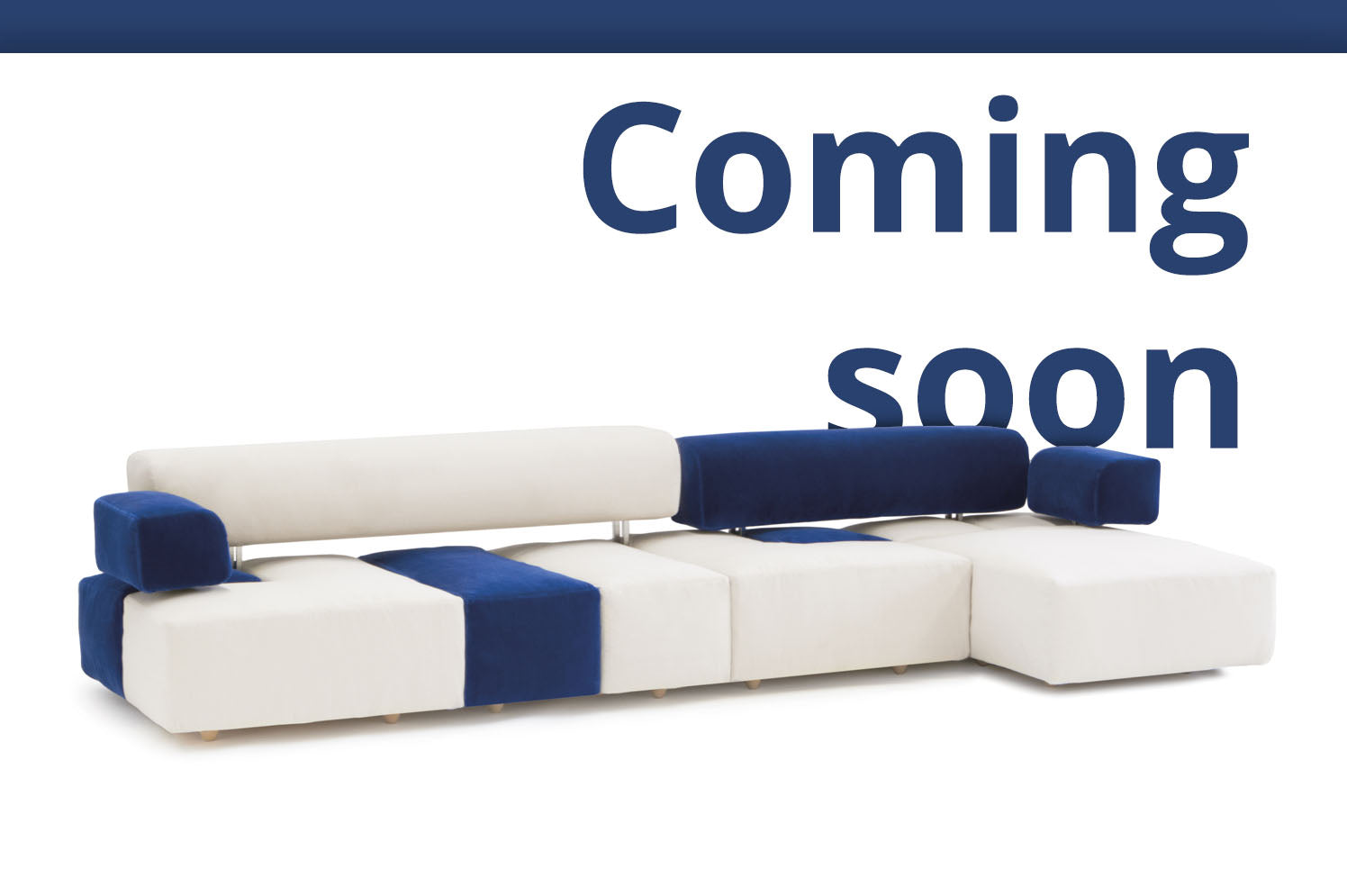 D3CO Sustainable modular sofa Domino - flexible