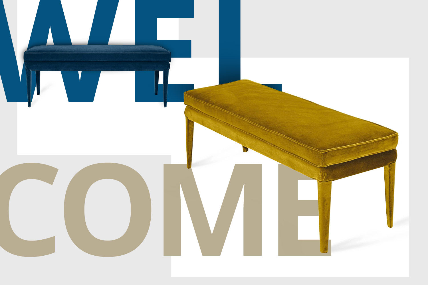 Welcome Libellula - sustainable and comfortable bench for any home