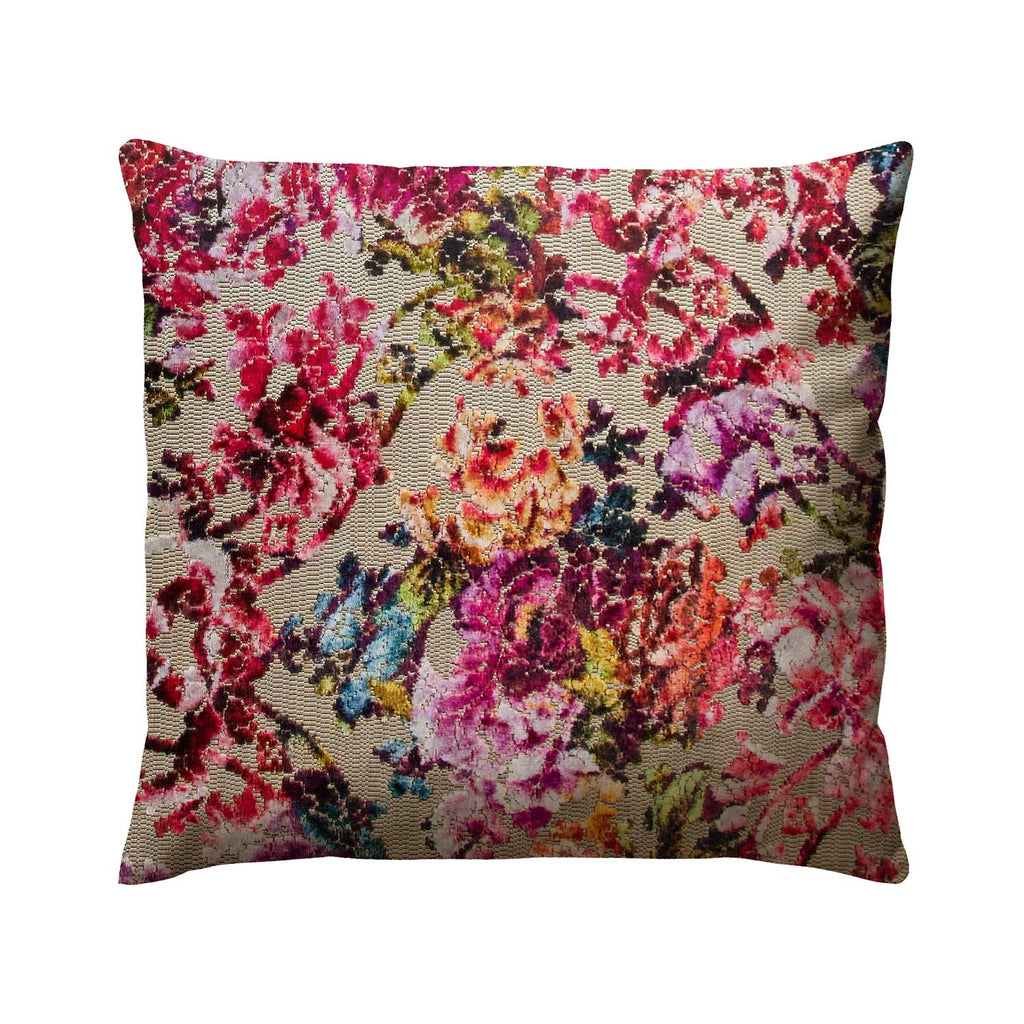 Cushion colourful luxe