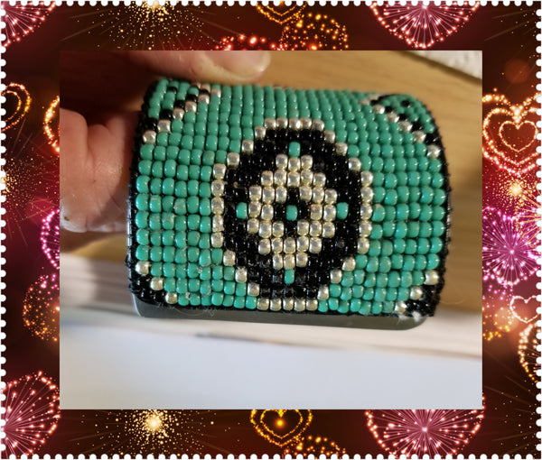 BOLD Cowgirl turquoise cowgirl cuff - Made by Request